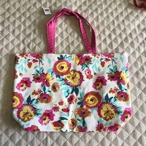 Handbags - Clinique floral canvas bag